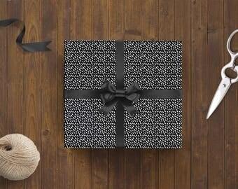 Wrapping Paper 'Rain' // 3pcs. x 50x70cm