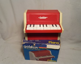 Vintage Children's Toy - Piano.Made in DDR.