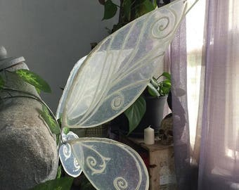 In Stock -  Large Size White Irrdessa Inspired Fairy Wings