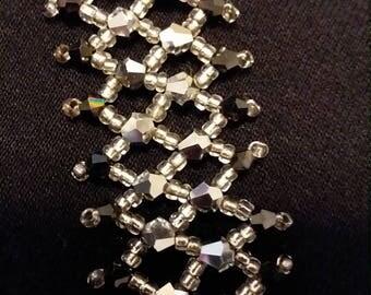 Beautiful Lacy stitched bracelet