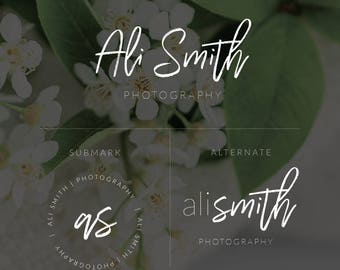 Photography Logo, Business Logo, Logo and Watermark, Watermark, Calligraphy Logo, Blog Logo