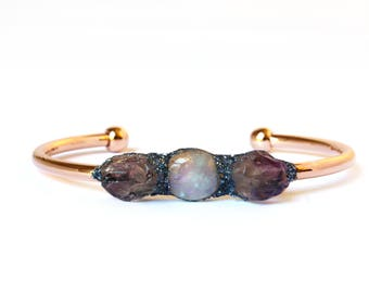Amethyst Birthstone Bracelets, Birthstone Jewelry, Gemstone Bracelets, February Birthstone, Amethyst Jewelry, Amethyst Bracelet