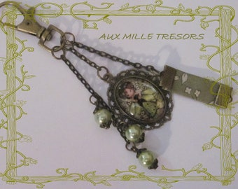 Jewelry bag little green fairy