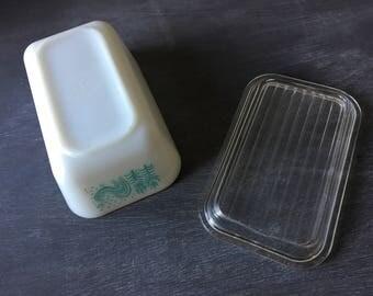 Vintage pyrex vintage pyrex butterprint pyrex refrigerator dishes blue pyrex 502 pyrex with lid pyrex blue pyrex amish butterprint