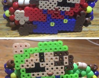 Pair of Mario and Luigi Kandi Cuffs Set
