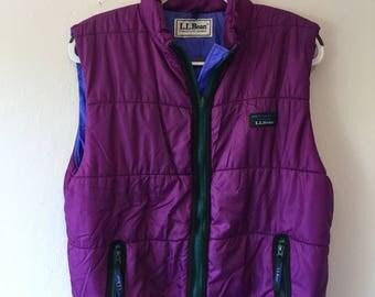 Vintage L.L. Bean Vest