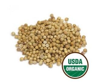 Coriander Seeds Whole, 1 Pound (lb)