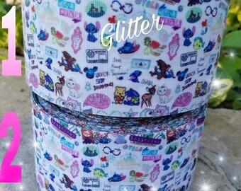 Princess ribbon, doddle ribbon,  princess resins, embellishments, ribbon,  cartoon ribbon,  scribble ribbon