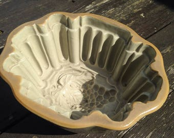 Antique vintage Jelly mould 1950's cooking