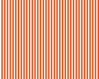 Thin Horizontal or Thin Vertical Dark Orange Lined Cardstock Paper