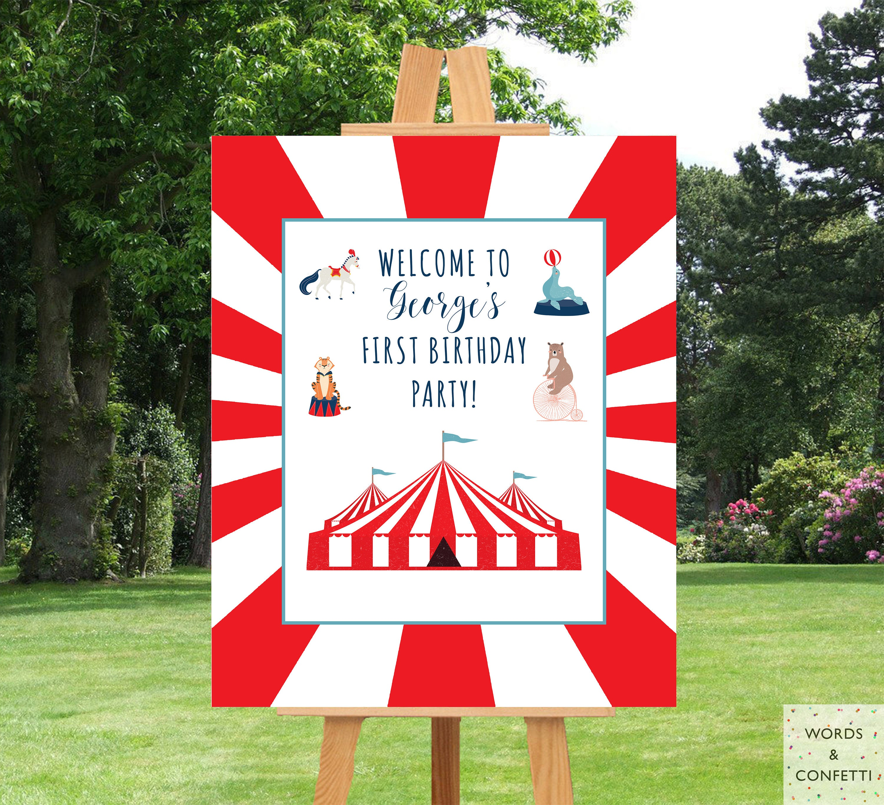 circus decor birthday pakistan carnival planner themed party in mega decorations