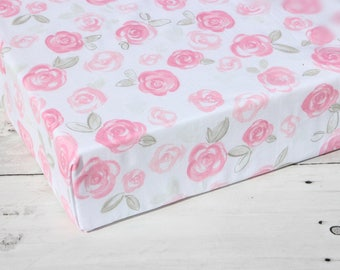 rustic crib bedding, floral crib sheet, floral crib bedding, pink crib sheet girl, fitted crib sheets, baby girl bedding, 4baby