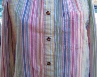 Redesigned  vintage blouse  off shoulders