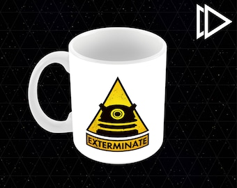 Dr. Who Dalek Exterminate - 11oz Coffee Mug