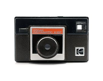 Kodak Instamatic X-15F - 126 film - Vintage Camera