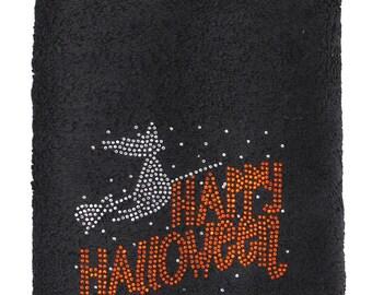 Halloween Rhinestone Towel