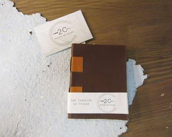 Notebook to fill - cross - creative - blank book - binding cross structure