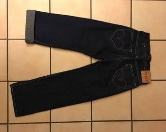 Levi Strauss & Co. Cinch Back Jeans blue buckle back rockabilly vintage pinup