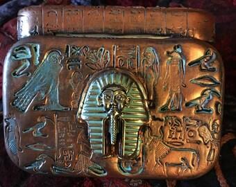 Egyptian altered altoid tin