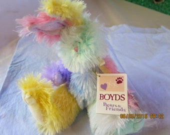 Boyds Bears & Friends Petey Cuddle-Fluff Rabbit 904547 2007