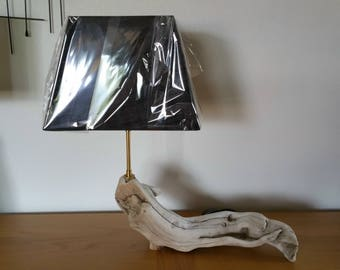 Unusual shape Driftwood lamp