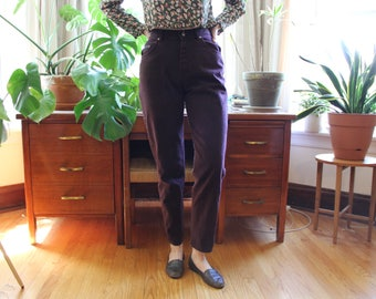 Lee Plum High Rise Jeans