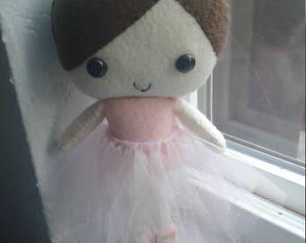 Cute Little Ballet Dancer Plush