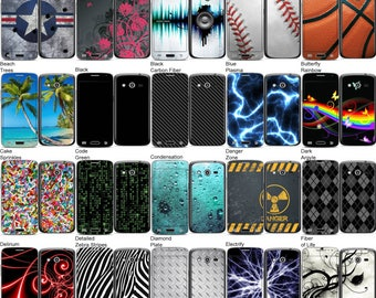Choose Any 2 Designs - Vinyl Skins / Decals / Stickers for Samsung Galaxy Avant Android Smartphone
