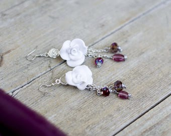 50% OFF - Romantic rose earrings