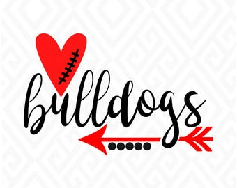 Georgia Bulldogs; SVG, DXF, Eps, Ai, Png, Jpeg and Pdf Digital Files for Electronic Cutting Machines