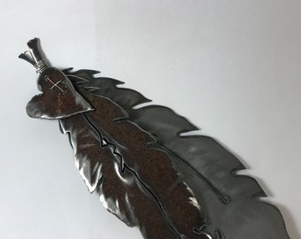 Feathers, Angel Wings, Metal Art