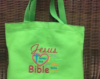 Sunday School bag/ tote