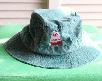 Vintage Green USODA Bucket Hat