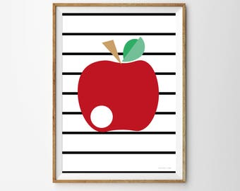 Apple Children's Print