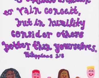 Philippians 2:3 Others> Yourself