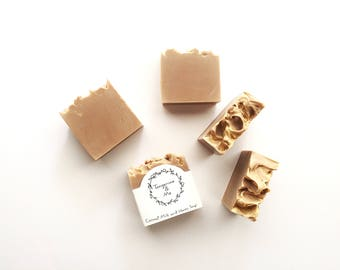 Coconut Milk and Honey Soap // Cruelty Free // All Natural