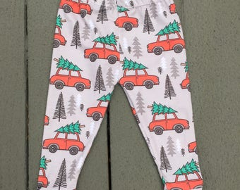 Holiday Car Leggings