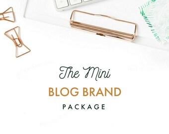 Custom Logo & Branding: THE BLOGGER PACKAGE