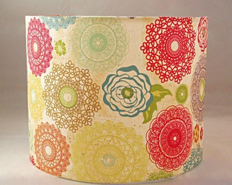 Cylinder Drum Lampshade / Ceiling Shade / Table / Bedside  Lamp 30cm