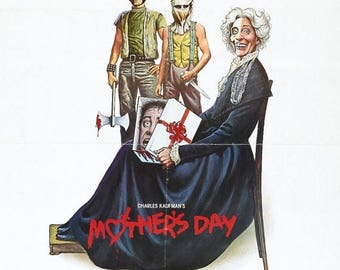 Summer Sale MOTHERS DAY Movie Poster Horror Gore