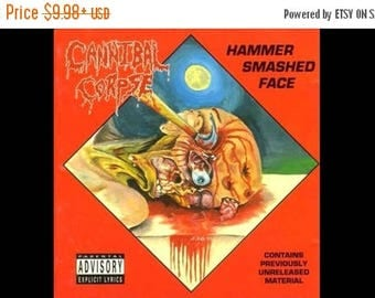 Back to School Sale: Hammer Smashed Face Album (1993) by Cannibal Corpse POSTER