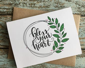 Bless Your Heart // Snarky // Break up card