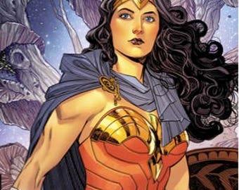 Wonder Woman Comic Coasters