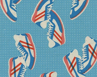 Sneakers - Blue from Kicks by Melody Miller for Cotton + Steel