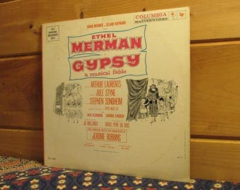 Gypsy - A Musical Fable - 33 1/3 Vinyl Record