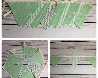 Mint green bunting 1.3m *REDUCED*