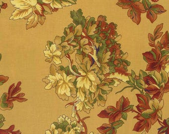 1/2 yd Harvest Riches Reverie by April Cornell for Free Spirit Fabrics PWAC029.0GOLD