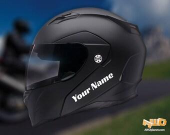 Helmet Decal Etsy - Custom graphic vinyl decals for motorcycle helmets