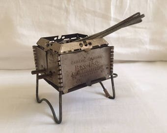 Vintage Antique Mini Marshmallow Campfire BBQ with Prongs