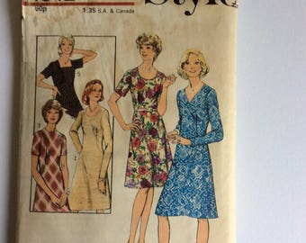 Vintage 60s Style Sewing Pattern 4942 - Size 14.5 - Bust 37 inches - Vintage Dress Sewing Pattern - Vintage Day Dress